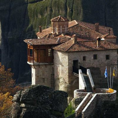 Meteora. The most visited monasteries in Europe.